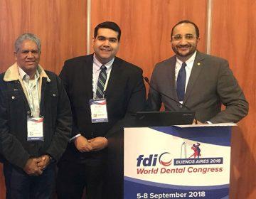 Investigador docente del CIBO-UNIBE presentó investigación durante el FDI 2018 World Dental Congress en Argentina