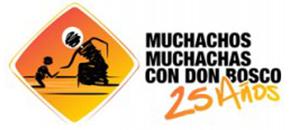 Muchachos/as con Don Bosco