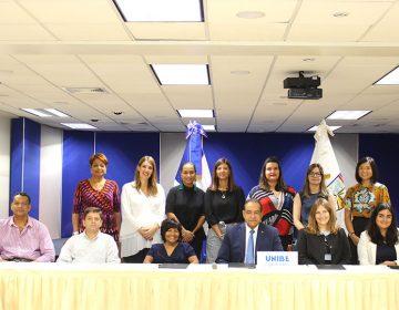 UNIBE firma acuerdos con IFES y ADIDE para fortalecer el liderazgo y la participación política de jóvenes con discapacidad