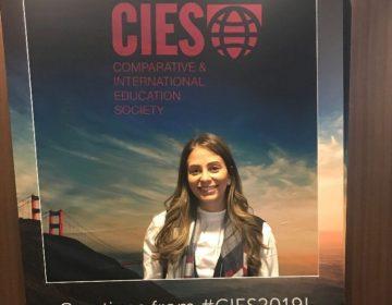 Lic. Rosa Hilda Cueto presenta su proyecto de Fondo FICU en Conferencia CIES 2019