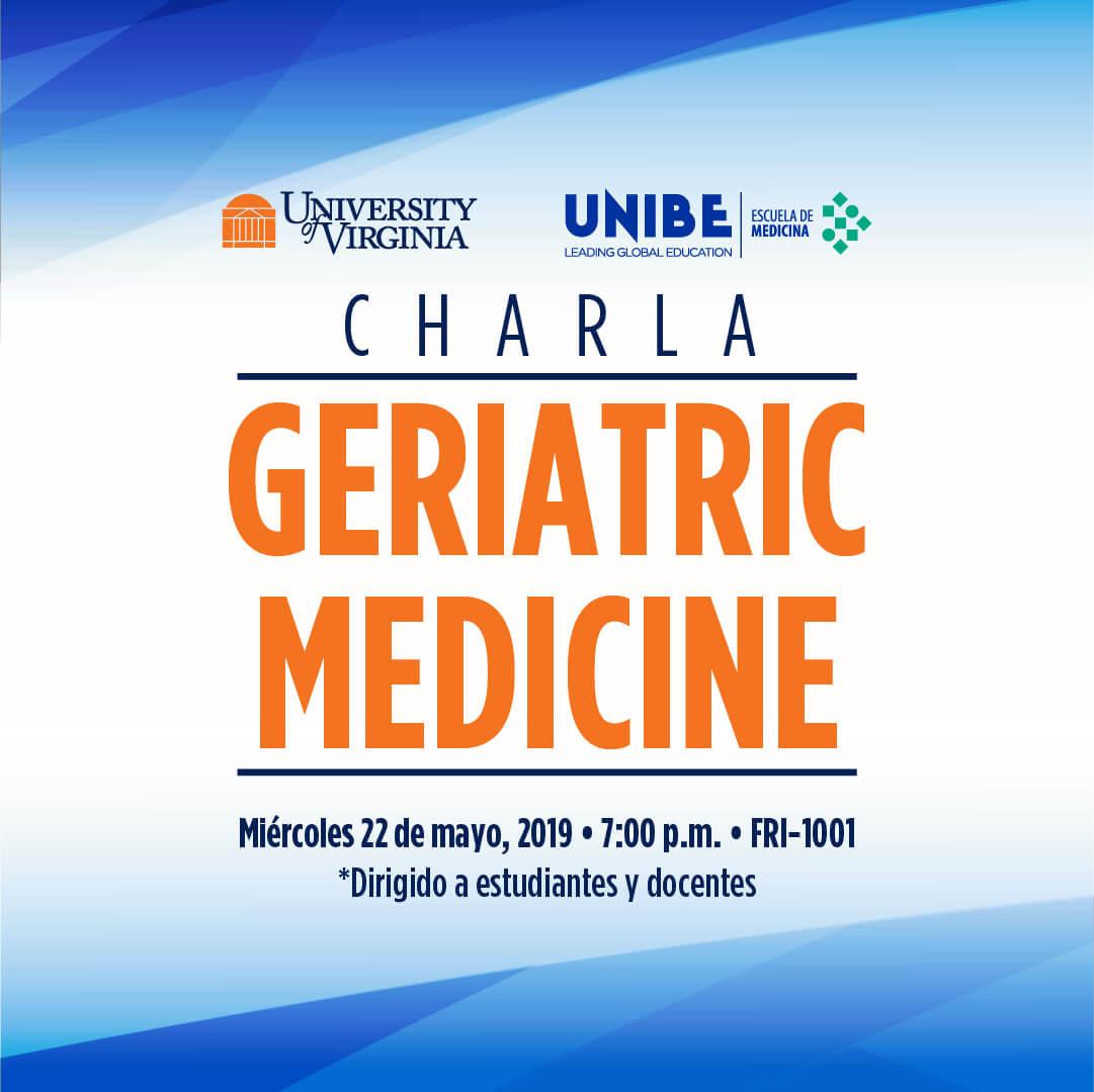 charla medicina miercoles 22 de mayo 2019