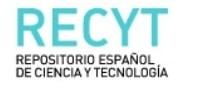 RECYT – Repositorio Español de Ciencia y Tecnología