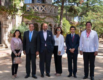 El rector de UNIBE visita la Universidad Nebrija