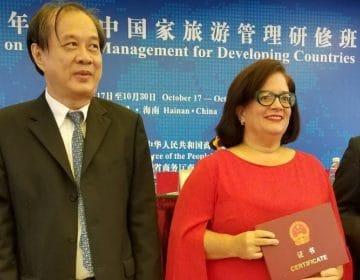 UNIBE participa en programa de Ayuda Turística Mundial de China 2019