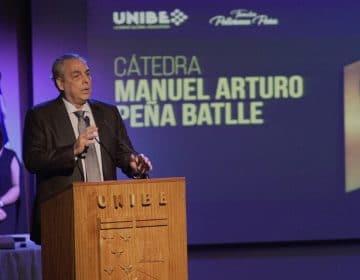 """FAMILIA PELLERANO PEÑA Y UNIBE CELEBRAN PRIMERA EDICIÓN DE LA  """"CÁTEDRA MANUEL ARTURO PEÑA BATTLE"""""""
