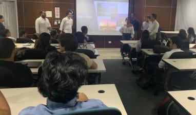 Estudiantes de Ingeniería industrial presentan exposición en Semana Francófona UNIBE