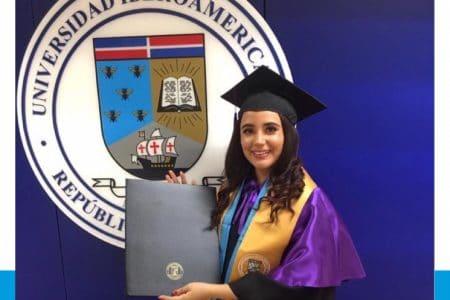 Estudiante Marianny Vásquez, Premio a la Excelencia Académica