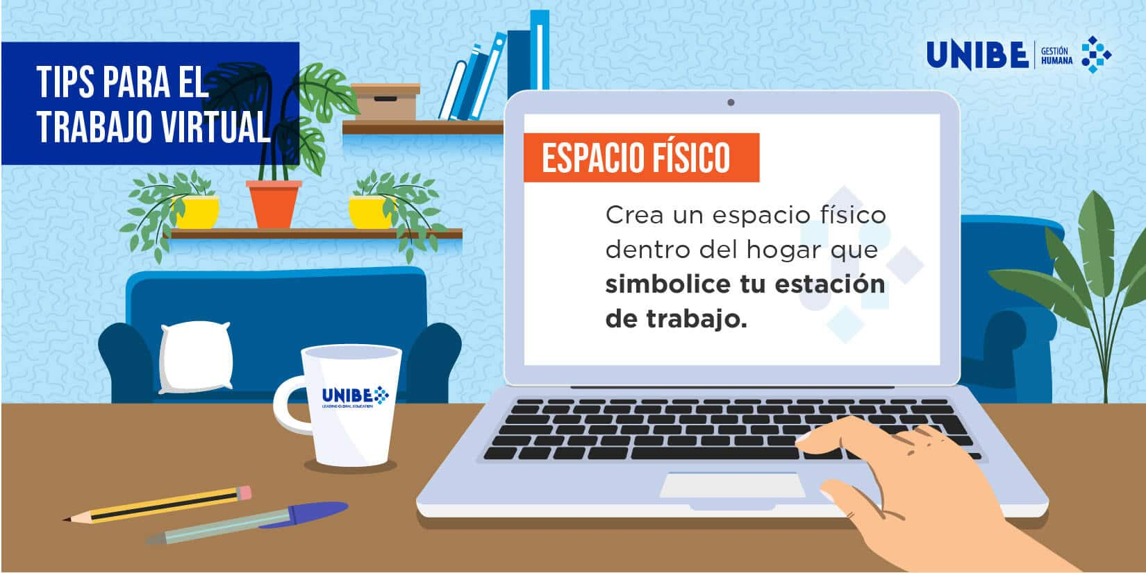TIPS PARA EL TRABAJO VIRTUAL
