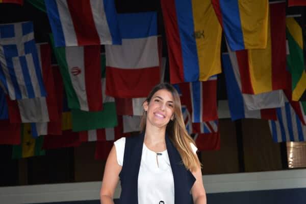 Dra. Loraine Amell, decana de Asuntos Interinstitucionales e Internacionales, UNIBE