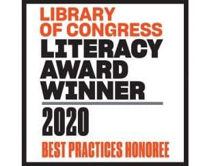 Premio de Alfabetización 2020 de la Biblioteca del Congreso de los Estados Unidos.