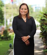 Dolores Sagrario Feliz, directora Facultad de Ciencias Jurídicas y Políticas