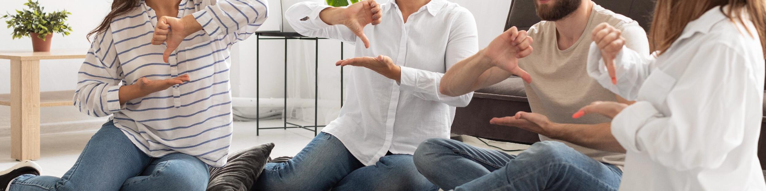 Curso Avanzado en Lengua de Señas