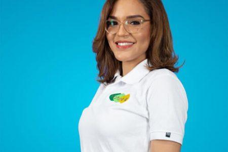 Stephanny Almánzar, egresada de BBA, ganadora de la mención 'Impacto Social'.