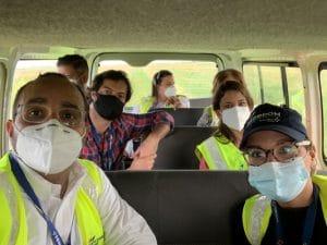 Unibe realiza visita de campo a las instalaciones de Aerodom