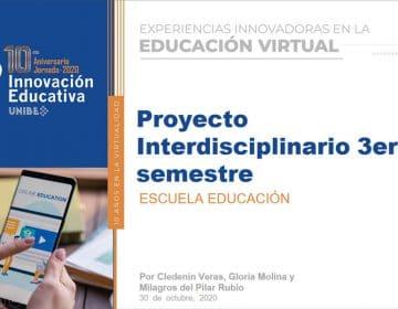 La escuela de educación expone sus experiencias innovadoras en la educación virtual en la 10ma Jornada de Innovación educativa.