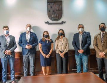 Unibe recibe en sus instalaciones a representantes de la Cámara de Comercio polaco – dominicana