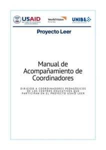 Manual de acompañamiento a coordinadores