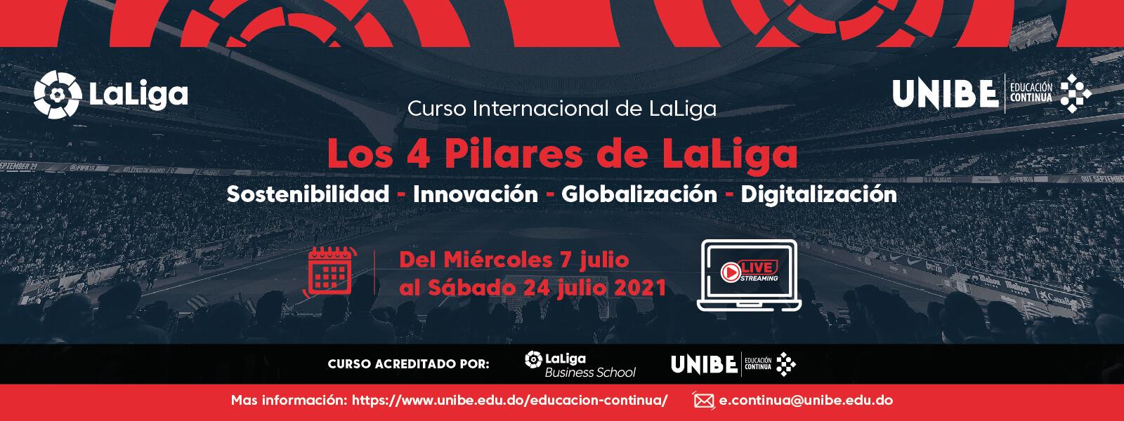 Curso Internacional Los 4 Pilares de LaLiga