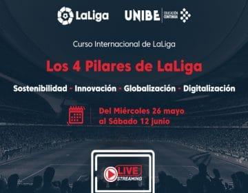 LaLiga y Unibe firman convenio y organizarán cursos de formación de índole deportivo