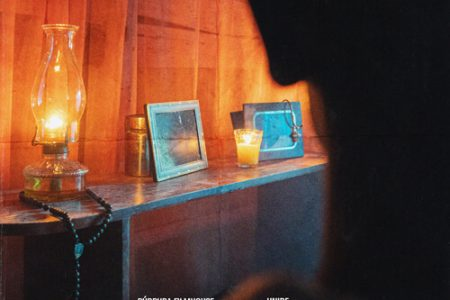 Afiche del cortometrajes Larimar, del egresado Carlos de León.