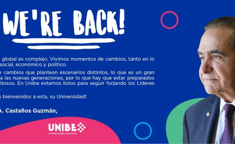 We are back – UNIBE