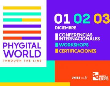 Estudiantes de UNIBE celebran 30 años del Congreso Internacional Mercadexpo